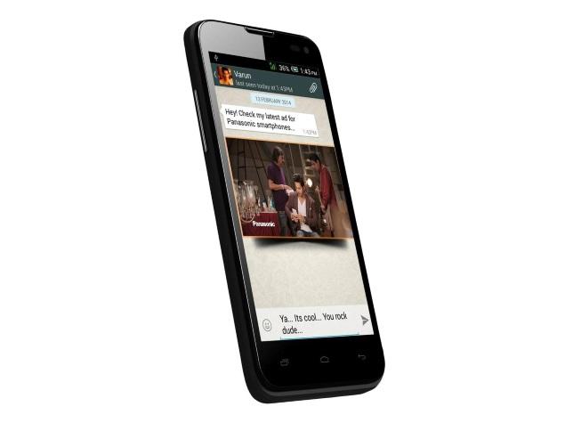 Panasonic T41 : un smartphone quadricœur avec KitKat à moins de 100 euros en Inde