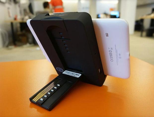 Audiovox, une station pour tablettes dédiée à la voiture