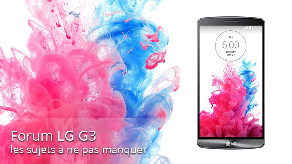 LG G3 :  tout ce qu'il faut savoir avant sa sortie