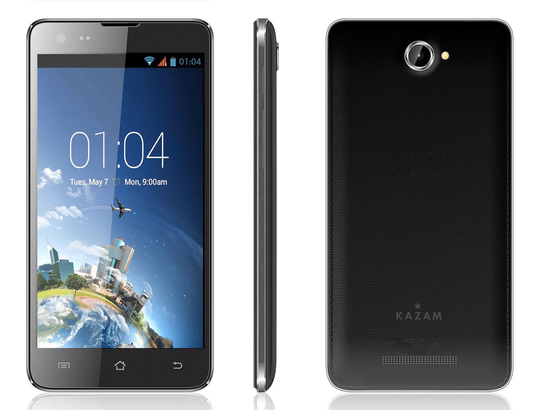 Kazam revoit sa gamme de smartphones avec quatre nouveaux modèles dès 119 euros… et Android 4.2.2