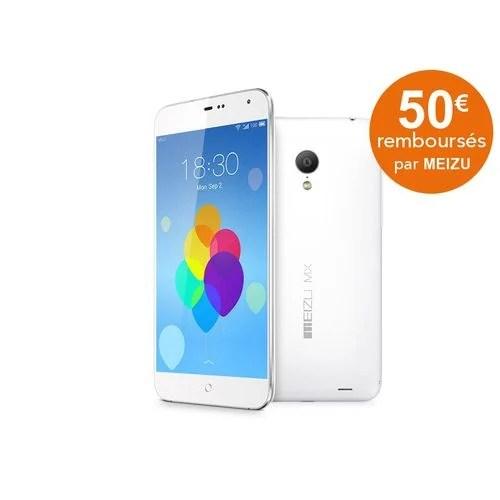 Soldes : le Meizu MX3 32 Go passe à 150 euros