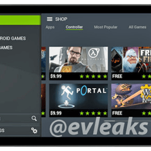 Nvidia Shield Tablet : une première image en fuite sur la toile
