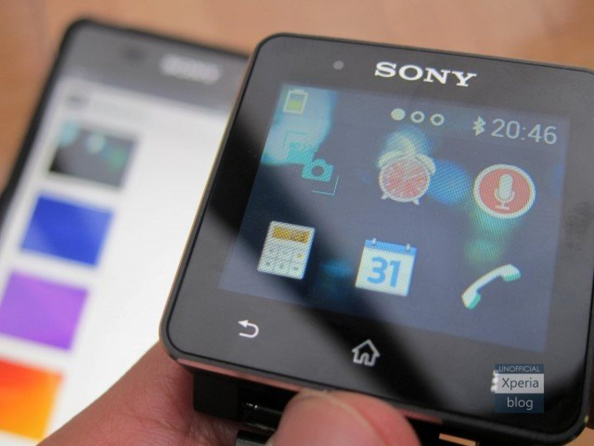 Sony Smartwatch 2 : on peut maintenant personnaliser son fond d'écran