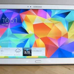 Test de la Samsung Galaxy Tab S 10.5, la première tablette à écran Super AMOLED