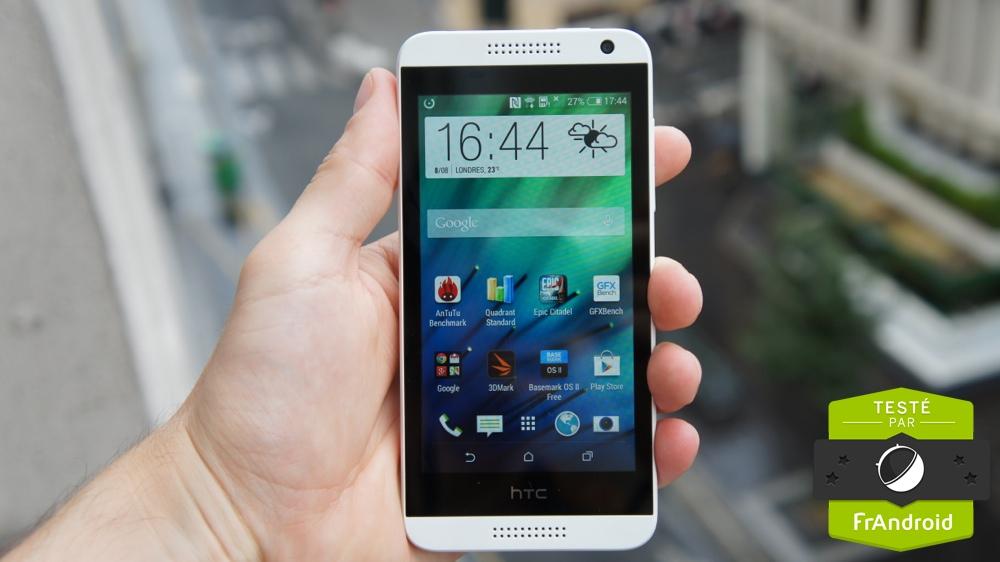 Test du HTC Desire 610, un milieu de gamme compatible 4G