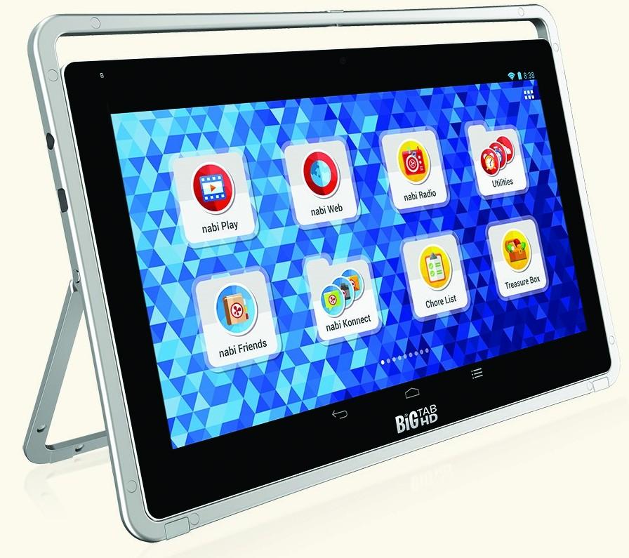 Nabi Big Tab HD : des tablettes de 20 et 24 pouces chez Fuhu