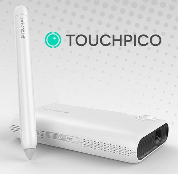 TouchPico : un projecteur qui affiche une surface tactile au mur !
