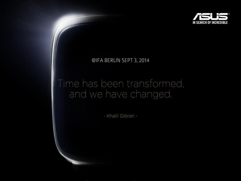 Asus : la montre connectée confirmée pour l'IFA