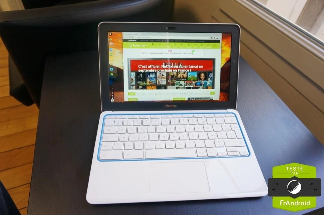 Test du HP Chromebook 11, l'essentiel pour Chrome OS