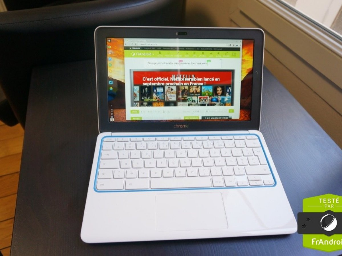 Test du HP Chromebook 11, l'essentiel pour Chrome OS