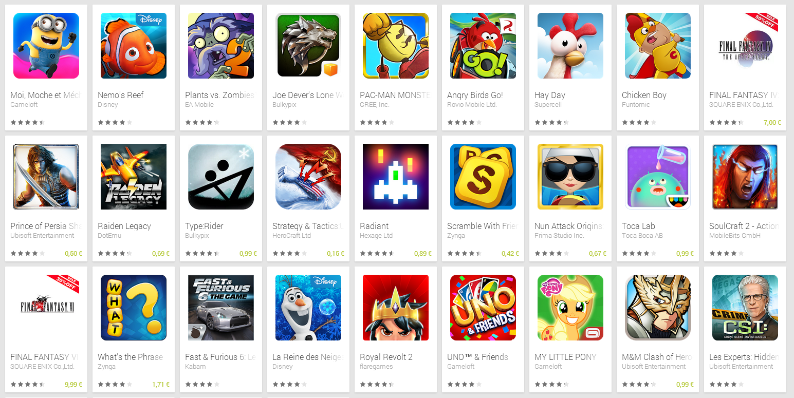 Promotions d'été sur le Google Play : les applications à tester
