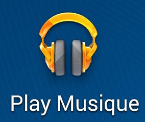 Prise en main de l'application Google Play Musique sur Android