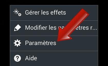 Comment régler le format des photos (taille/définition) sur Android ?