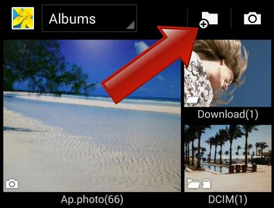 Comment créer des dossiers de photos sur Android ?