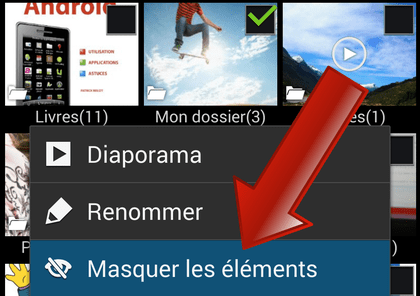 Comment masquer des photos et vidéos sur Samsung Galaxy ?