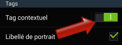 Comment créer des tags contextuels sur Samsung Galaxy ?