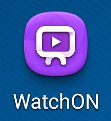 Aperçu de WatchOn (Samsung Galaxy)