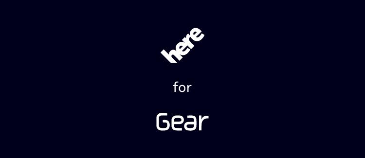 Here s'apprête à débarquer sur les montres Gear