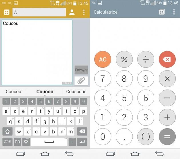 L'interface du G3 sera portée sur des smartphones LG d'entrée et milieu de gamme