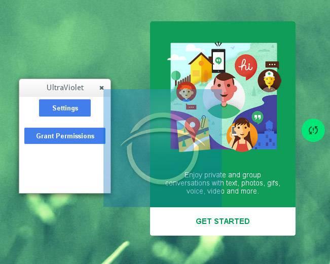 Google teste une nouvelle version d'Hangouts nommée «Ultra Violet»