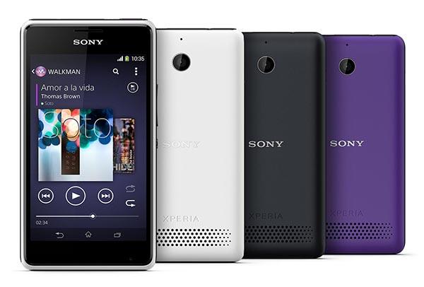 Chose promise, chose due : le Sony Xperia E1 passe à KitKat