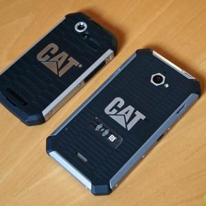 CAT B15Q et S50 : Caterpillar présente ses smartphones robustes sous KitKat
