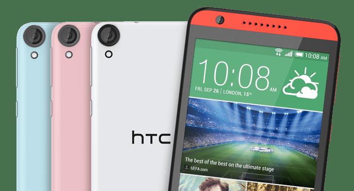 HTC dévoile le Desire 820, le premier Android octo-coeur 64 bits