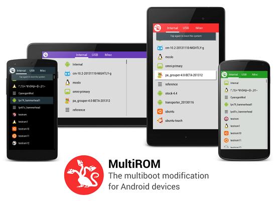 MultiROM est disponible (en bêta) pour le LG G2