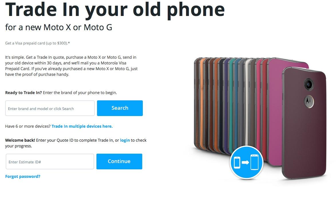 Motorola Trade In : le service de reprise d'anciens mobiles est lancé aux États-Unis