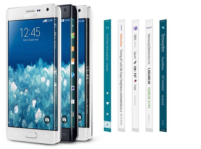 Samsung Galaxy Note Edge : un smartphone qui se fera rare