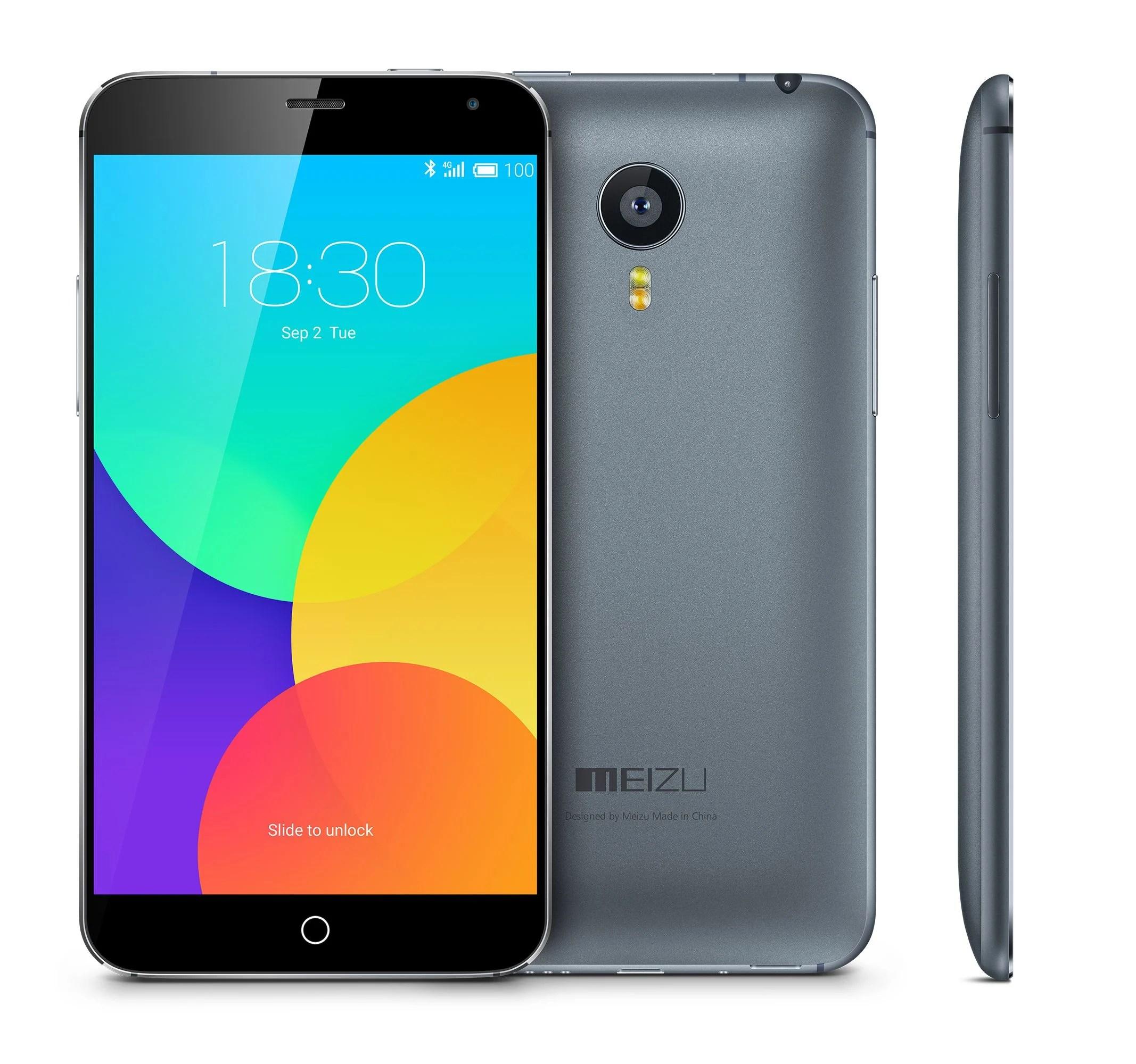 Meizu travaille bien sur Android 5.0