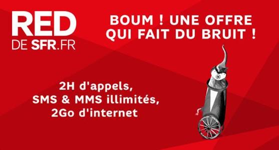 Bon plan : le forfait SFR RED 4G 5 Go à 10 euros pendant une semaine