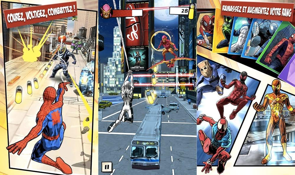Spider-Man Unlimited est désormais disponible sur Android