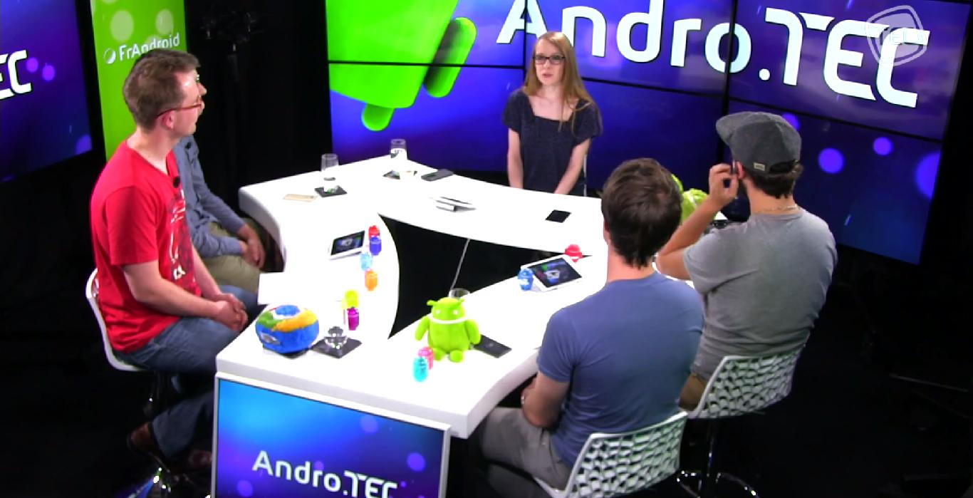 L'actualité de la semaine dans AndroTEC 029 : Play Store, BlackBerry Passport, Nest et Moto 360
