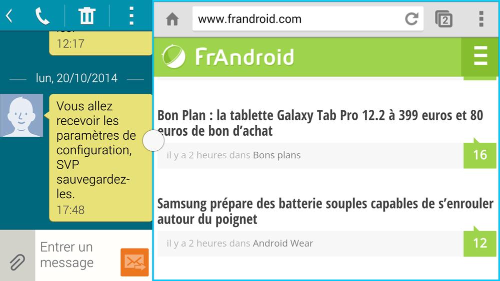 Le mode multi-fenêtre bientôt par défaut sous Android ?
