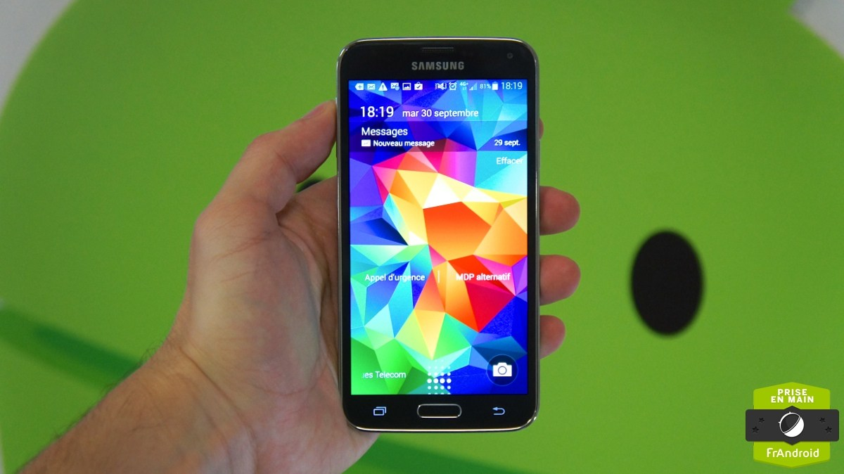Galaxy S5 : une migration vers Android 5.0 pour décembre ?