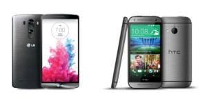 Comparatif : le LG G3 S et le HTC One Mini 2 sur le ring pour le combat des minis