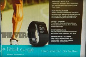 Fitbit Surge, un bracelet d'activités aux faux airs de montre
