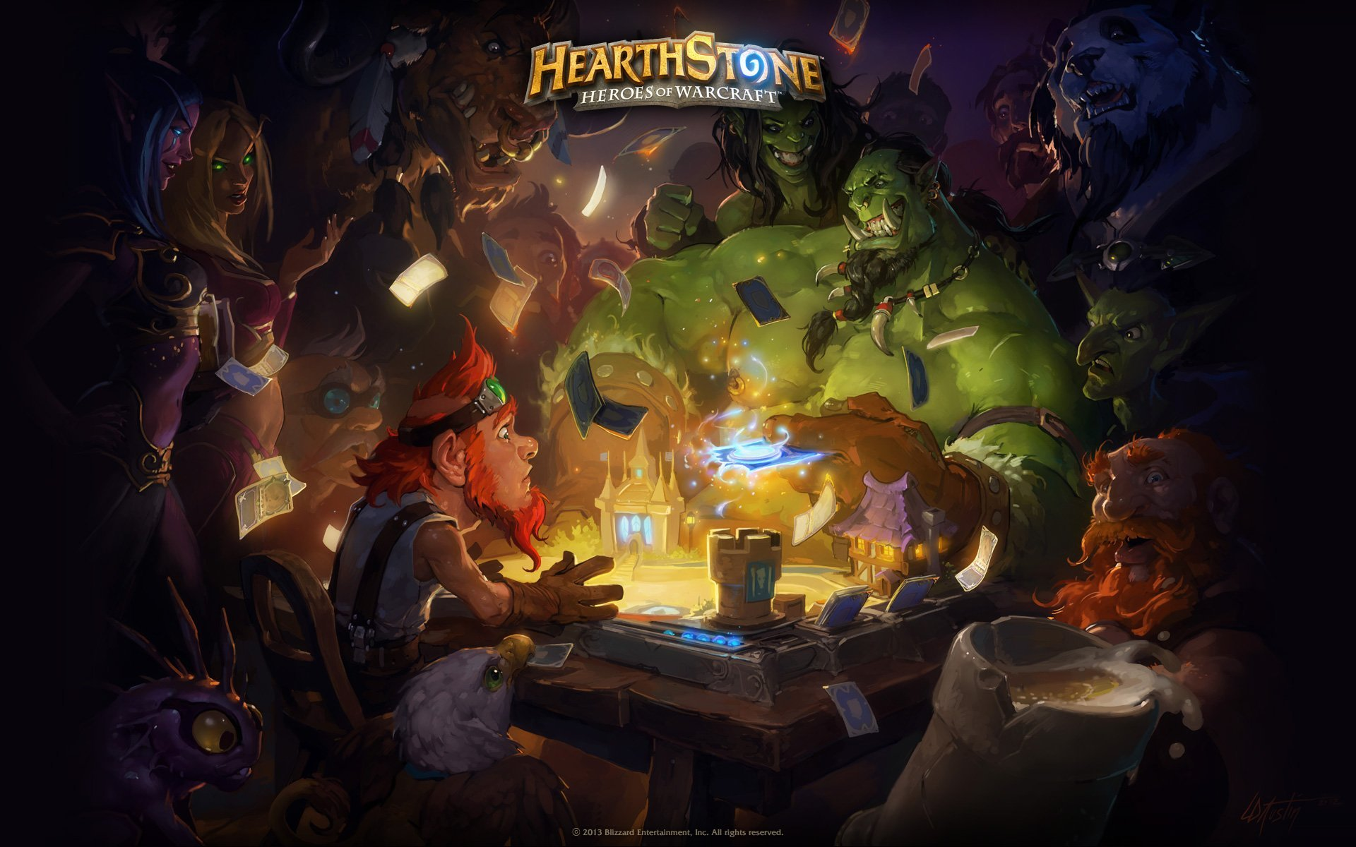 Hearthstone : la version Android avant la fin de l'année, mais uniquement sur tablette