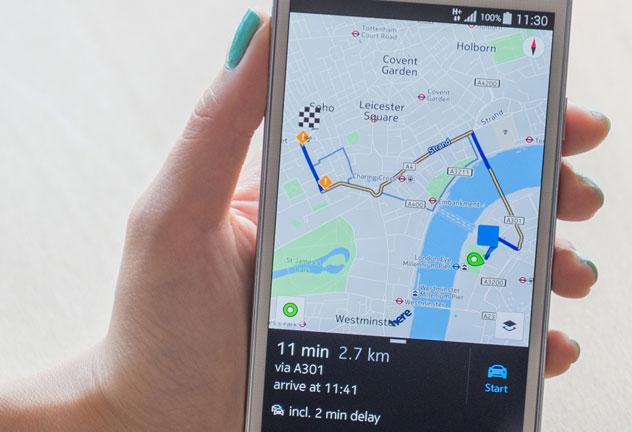 Fraîchement racheté, Here Maps ne s'occupera pas uniquement d'automobile
