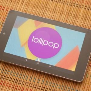 La Nexus 7 2012 inutilisable sous Lollipop ?