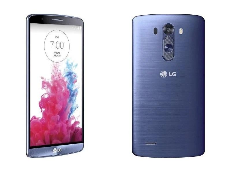 Le LG G3 se dévoile dans un coloris bleu acier
