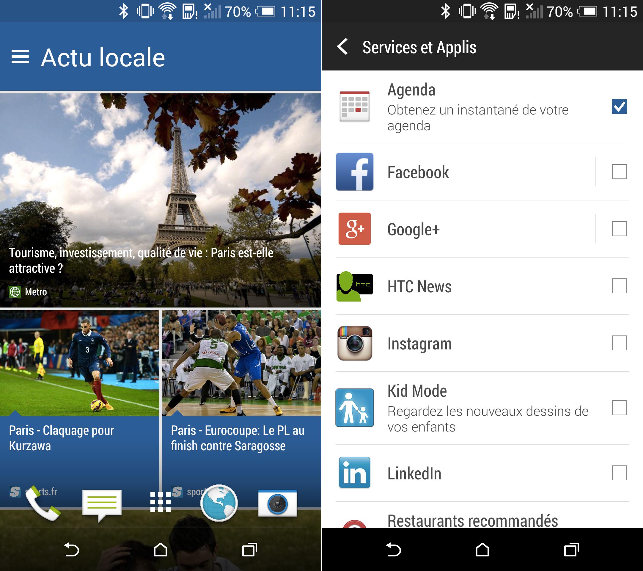 HTC : bientôt de la publicité sur Blinkfeed ?