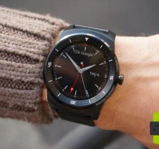 Test de la LG G Watch R, elle gagne en style !