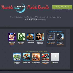 Le nouveau Humble Mobile Bundle propose plus de 10 jeux Android pour moins de 8 dollars
