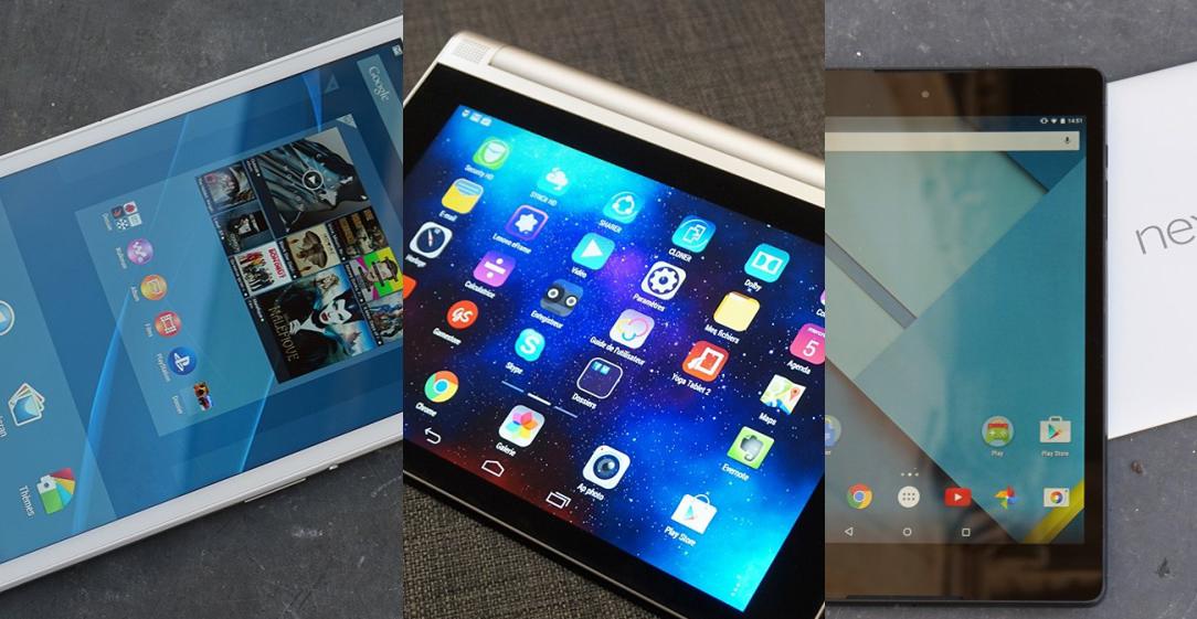 Xperia Z3 Tablet Compact, Yoga Tablet 2 et Nexus 9 : laquelle vous a convaincu ?