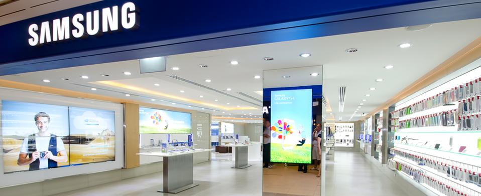 Samsung ferme une boutique et laisse sur le carreau 50 salariés