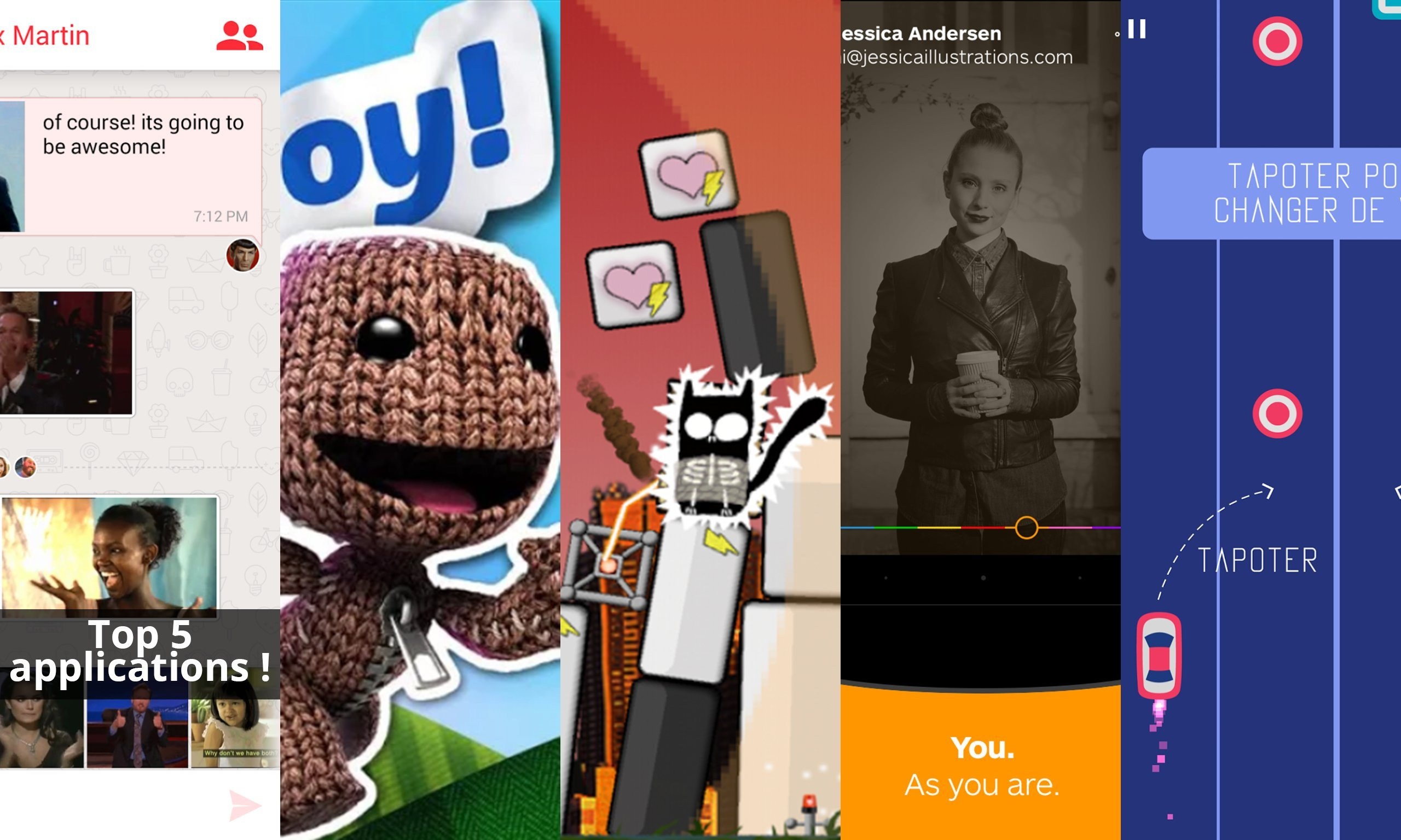 Les apps de la semaine : Pixit, Run Sackboy! Run!, Call of Kitty, Wire et 2 Cars