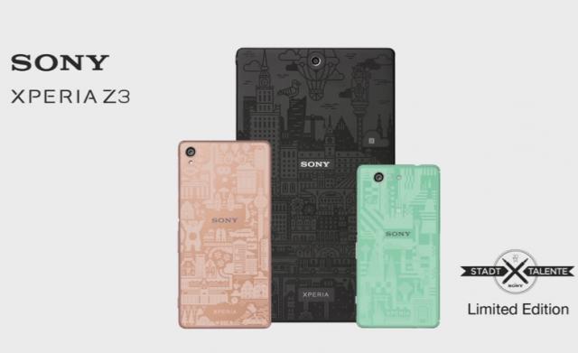 Sony Xperia Z3 : les éditions limitées arrivent
