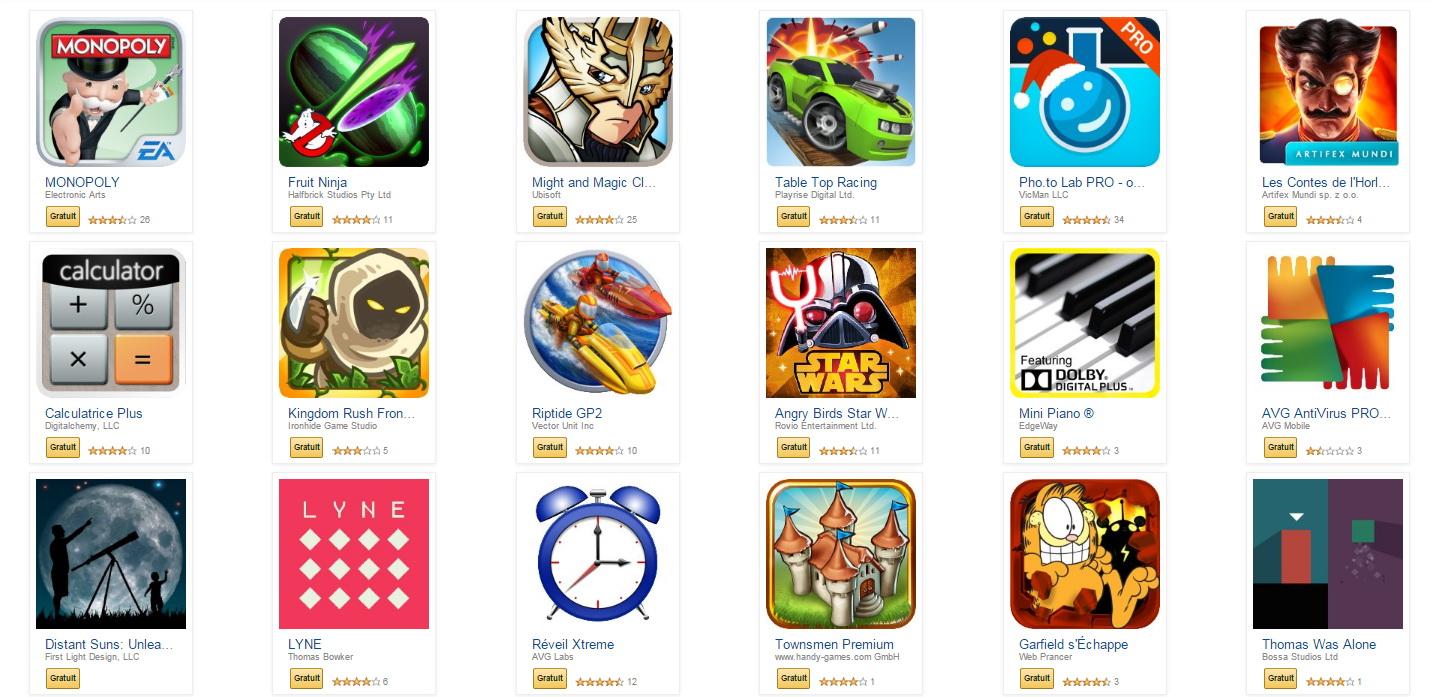 Le Pack du Nouvel An de l'Amazon App Shop mise plus sur la qualité que sur la quantité